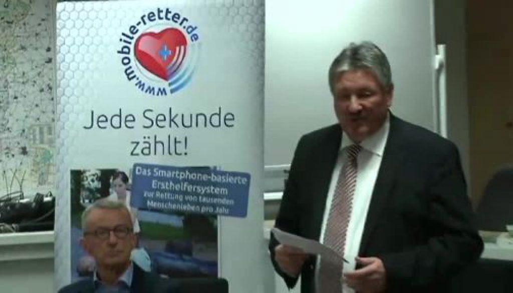"""Startschuss für das Projekt """"Mobile Retter"""" in der Region"""