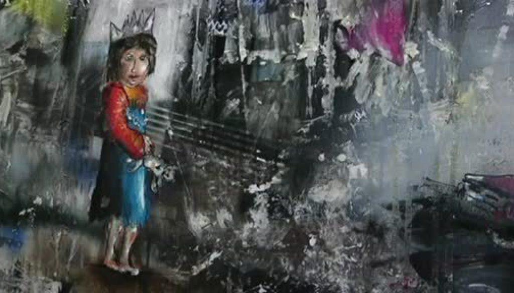 Künstler zeigt Schönheit auf andere Art und Weise