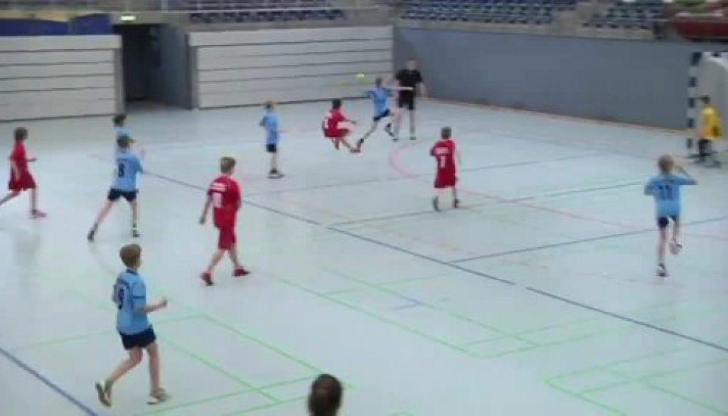 Kleine Handballer in Nordhorn ganz groß!