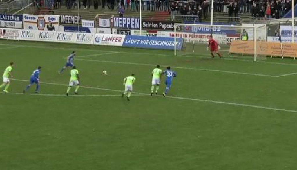 SV Meppen vs