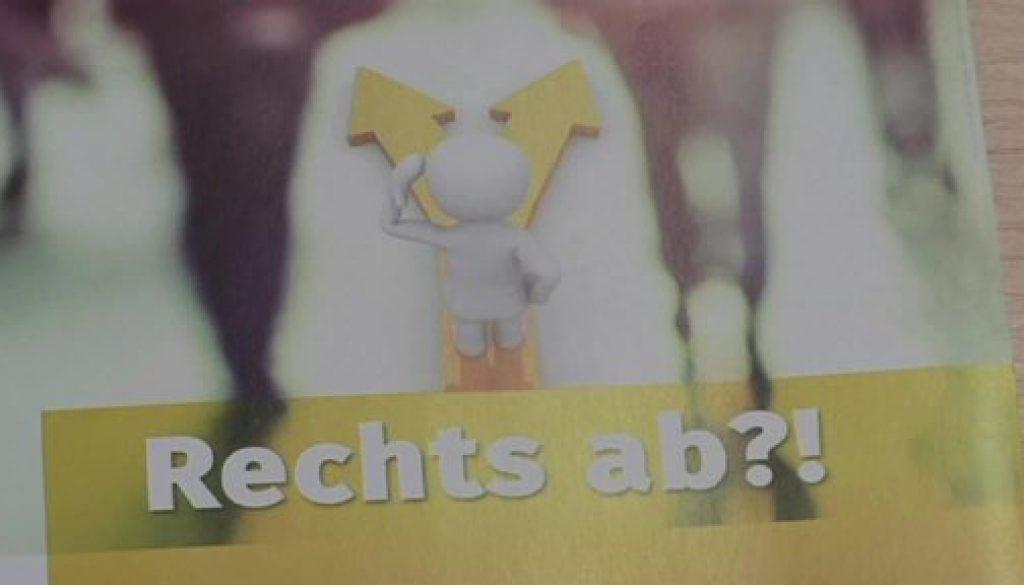 """Rassismus den Garaus machen mit dem Projekt """"Rechts ab?!"""""""