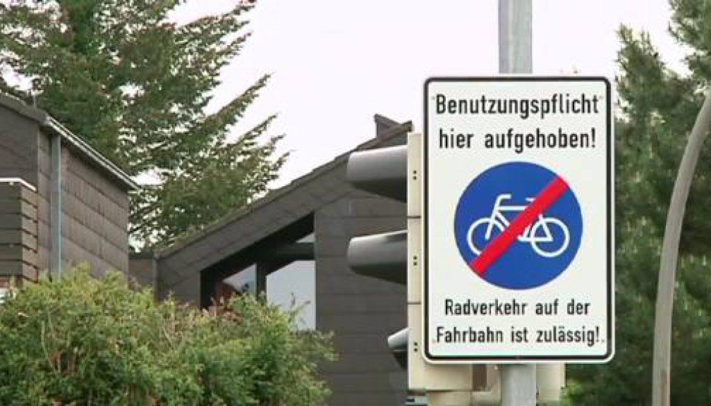 Lingen schickt Radfahrer vom Radweg auf die Straße