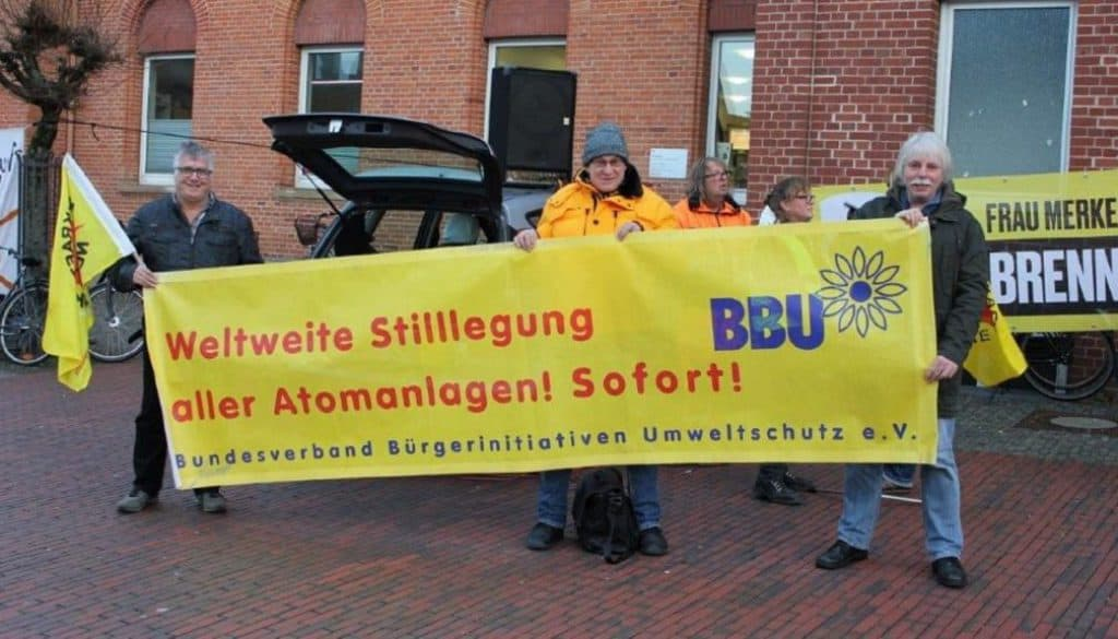 Foto Mahnwache Lingen 13 12 2018 BBU-Transpa (C B )