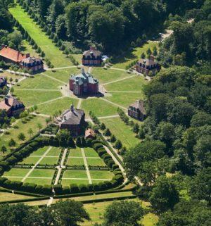 Schloss Clemenswerth mit Copyright