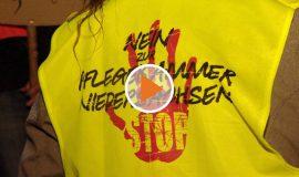 Screen_Demo gegen die Pflegekammer Niedersachsen