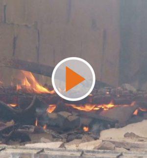 Screen_Grossbrand auf Bauernhof
