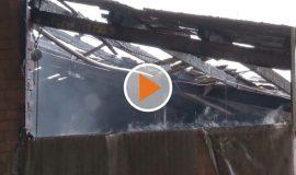Scheunenbrand in Lengerich
