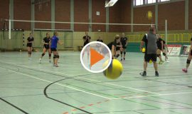 Screen Sport-Talk Spelle Volleyball