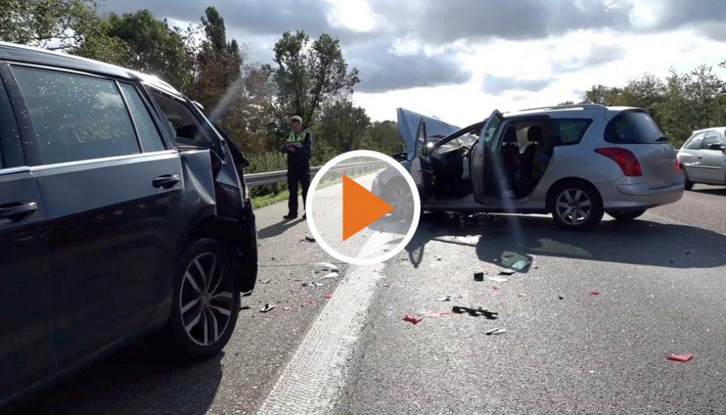 Screen_Schwerer Unfall auf A31