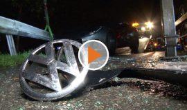 Screen_Unfall auf der A1 Ersthelfer greift ein