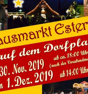 Plakat Nikolausmarkt 2019 - Querformat