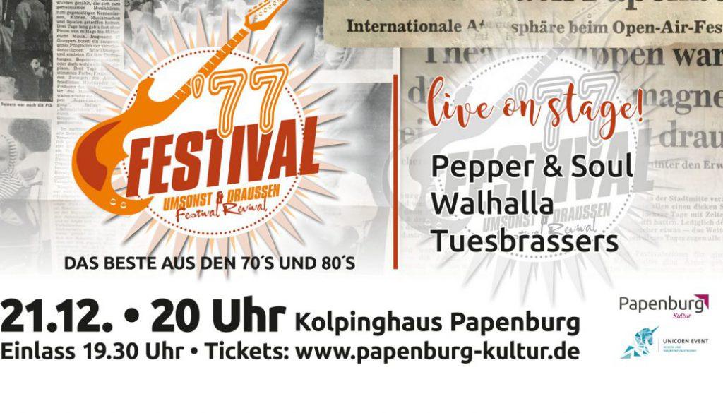 40 Jahre Umsonst und draussen festival papenburg