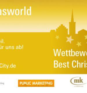 Best Christmas City (© Messe Frankfurt GmbH)