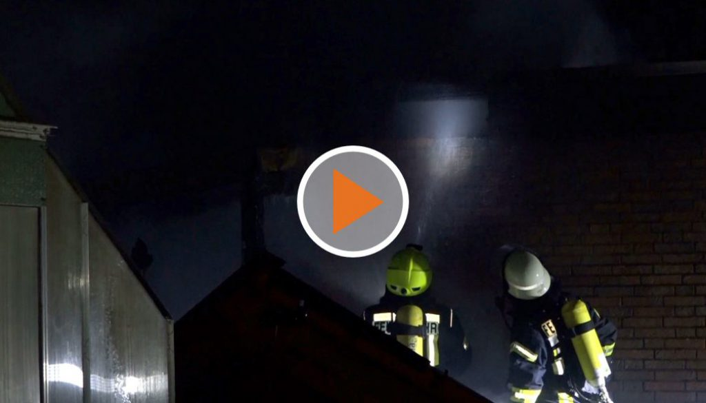 Screen_Garagenbrand in Friedeburg