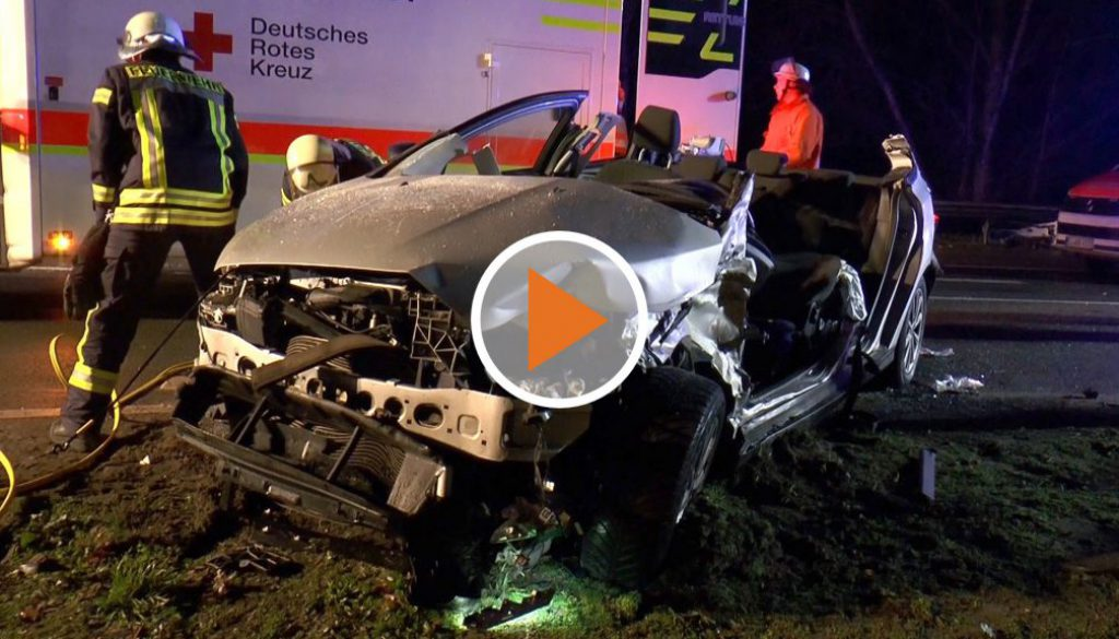 Screen_Schwerer Unfall auf der B70 in Spelle