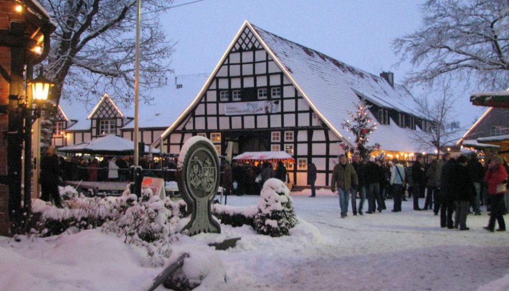 Screen_Weihnachtsmarkt am Woehlehof in Spelle