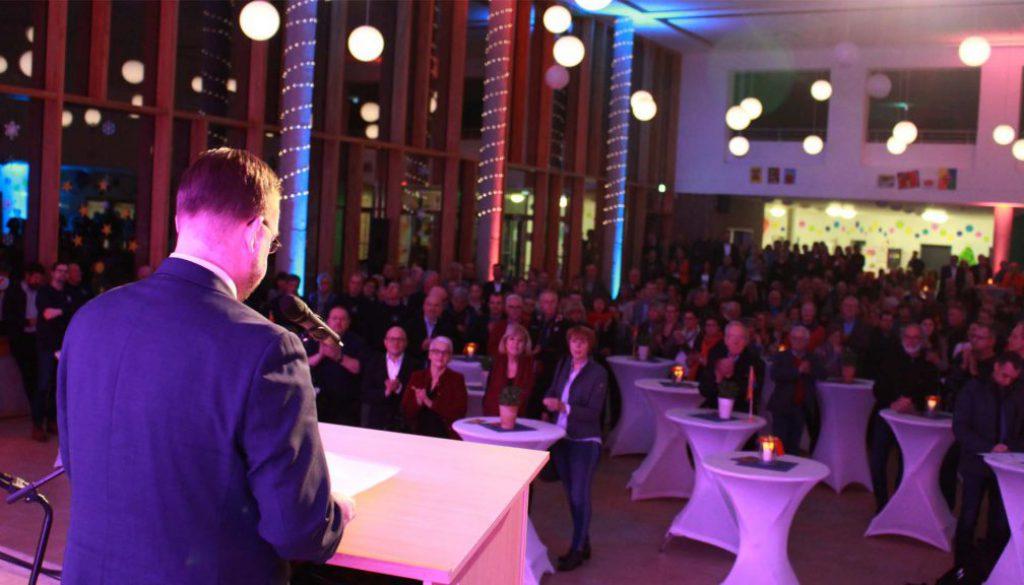 Neujahrsempfang in Papenburg ausverkauft