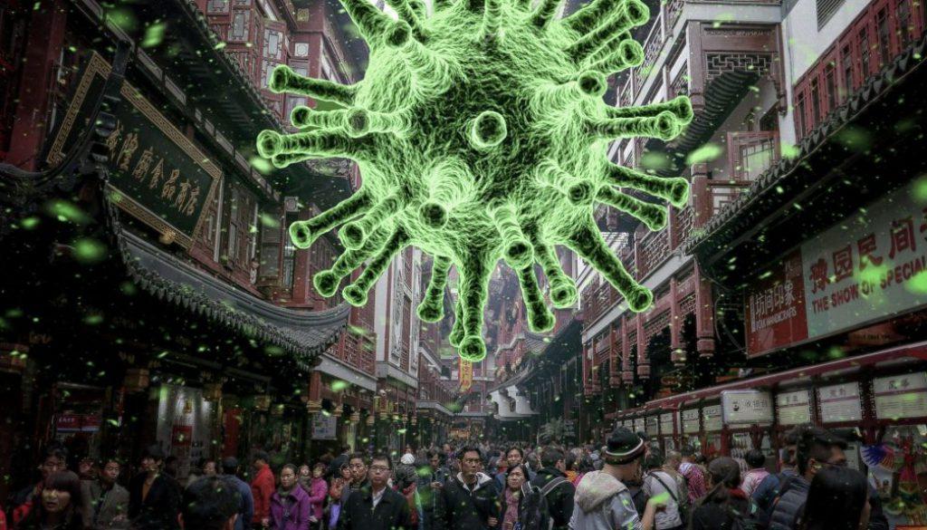 Corona Virus Massen Veranstaltung