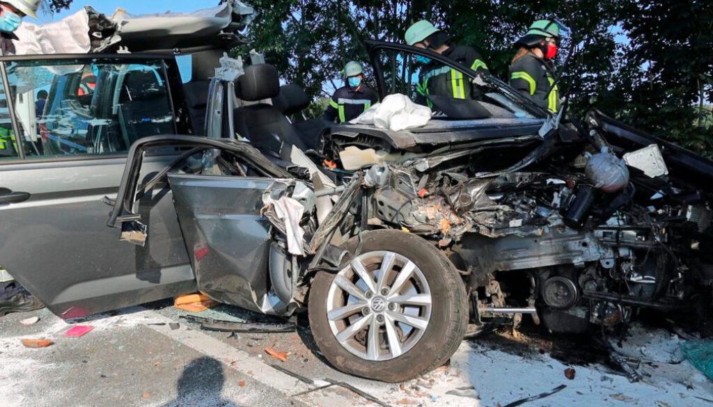 Schwerer Verkehrsunfall bei Bad Essen
