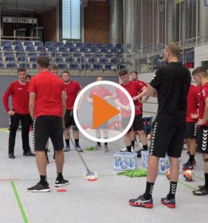 Screen_Trainingsauftakt für die HSG