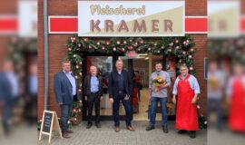 Neueroeffnung Fleischerei Kramer in Lengerich