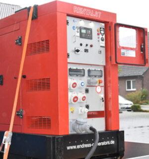 Mobiles Notstromaggregat fuer den kommunalen Katastrophenschutz
