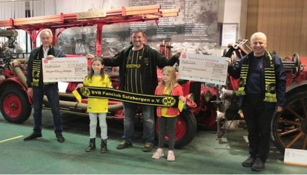 BVB Fanclub Salzbergen spendet 1000 Euro