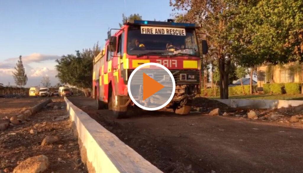 Screen_Feuerwehr Hilfstransport fuer Afrika