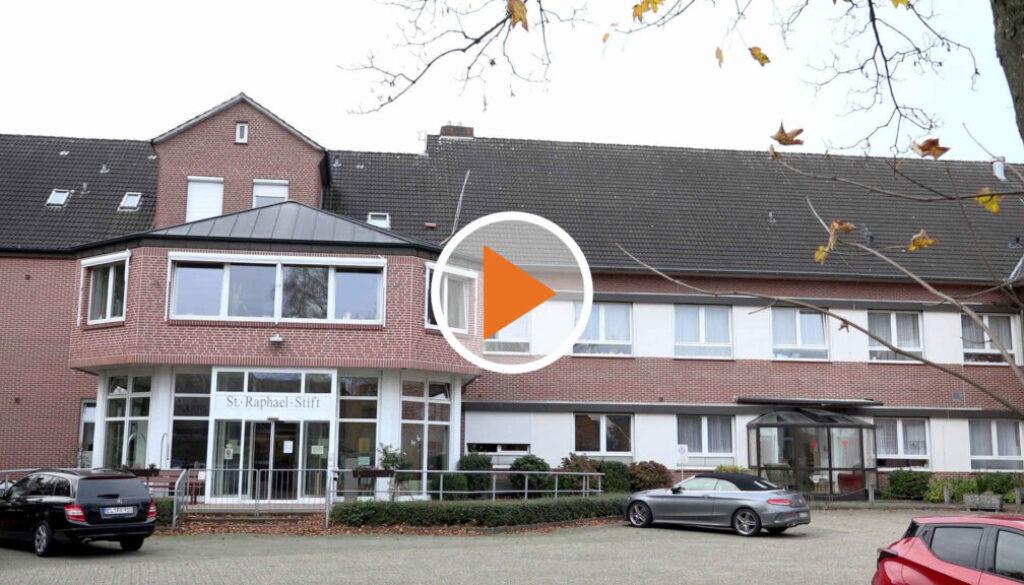 Screen_Statement: Corona-Lage im St Raphael-Stift in Werlte