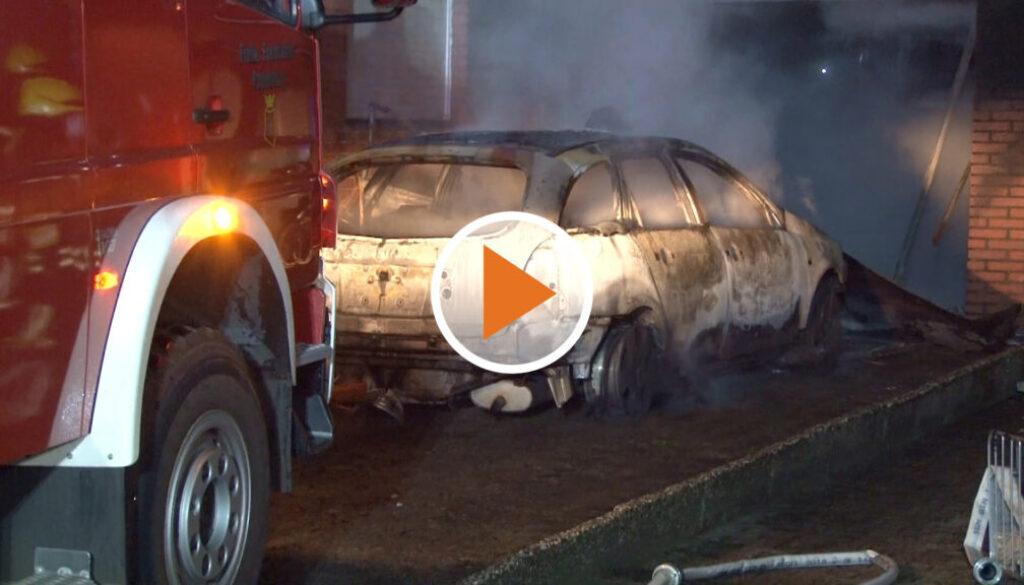 Screen_Garagenbrand Eine Person schwerverletzt