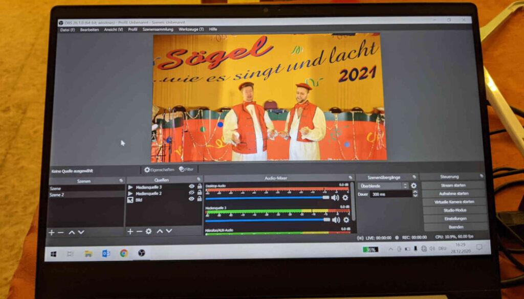 Screen_21 01 11 Soegeler Karneval 2021 wird digital abgehalten