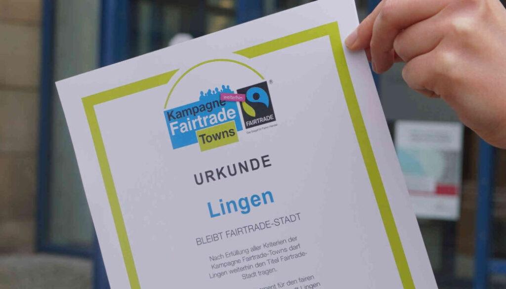Screen_21 02 20 Lingen weiterhin fairtradestadt