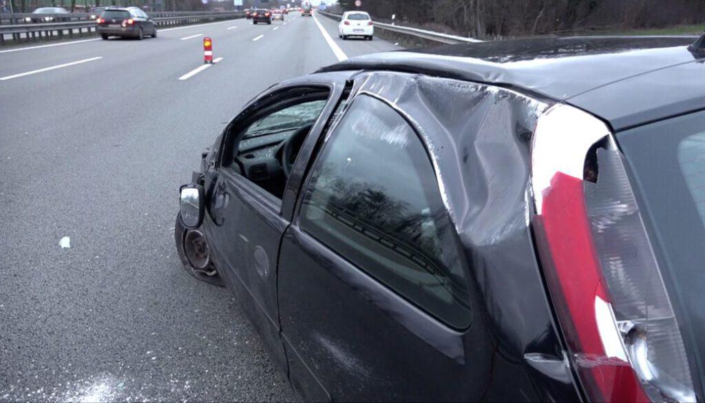 Schwerer Unfall auf der A1 screen