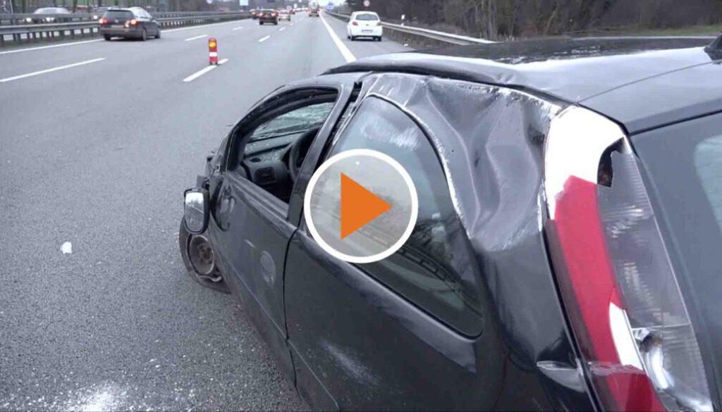 Screen_schwerer Unfall auf der A1