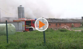 21 05 14 Brand in leerem Entenstall