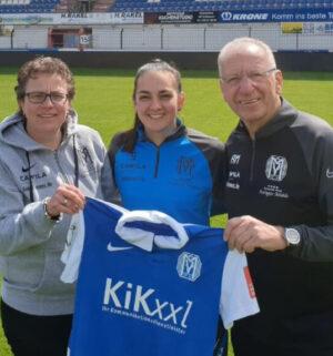 Athanasia Moraitou bleibt beim SV Meppen