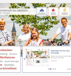 Screen_21 05 12 Gemeinde Salzbergen hat eine neue Website