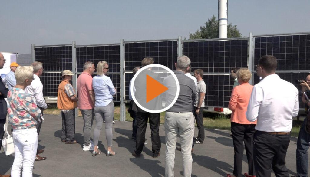 Screen_Niedersachsens erster Solarzaun steht in Luenne