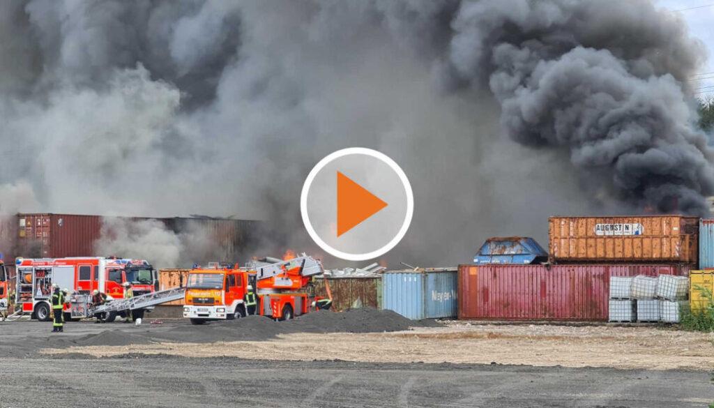 Screen_meppen huentel großbrand auf schrottplatz